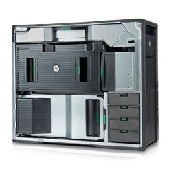 REFURB  HP Z-800 WORKSTATION ( 32GB RAM , 2TB HDD , 2GB GRAPHICS , DVD , HEXA CORE 2 PROCESSOR X5670 )
