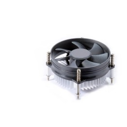 Cables Kart Aluminum Heat Sink & 3.5 inch Fan Socket 775 with 4-Pin Connector