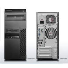 REFURB LENOVO M90 TOWER CPU :- i5 1st Gen,4GB,500GB,DVD ( Take ALL 4 PIECES @ JUST 58000/- WITH GST BILL FREE DELIVERY )