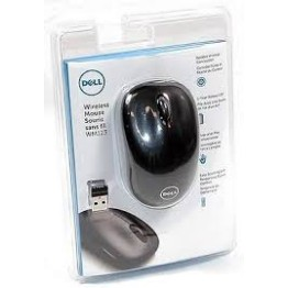 Dell WM123 Wireless Optical Mouse (Black)